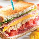 Club sándwich saludable