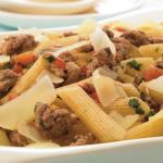 Cómo hacer picadillo de res con verduras en pasta
