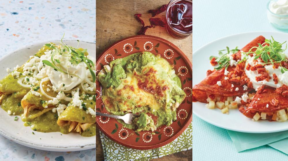 12 recetas de enchiladas con sabor irresistible