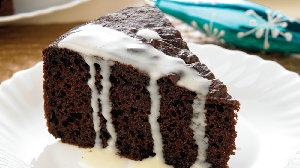 pastel de chocolate receta