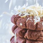 Polvorones de chocolate con coco