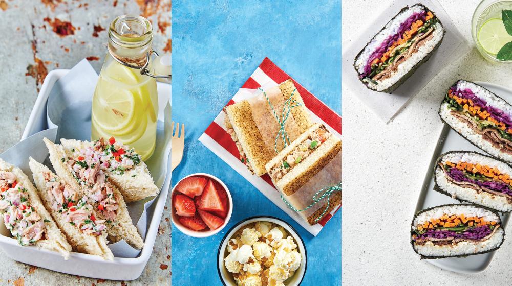 20 formas diferentes para hacer un sándwich delicioso y muy saludable