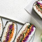 Sándwiches al estilo sushi