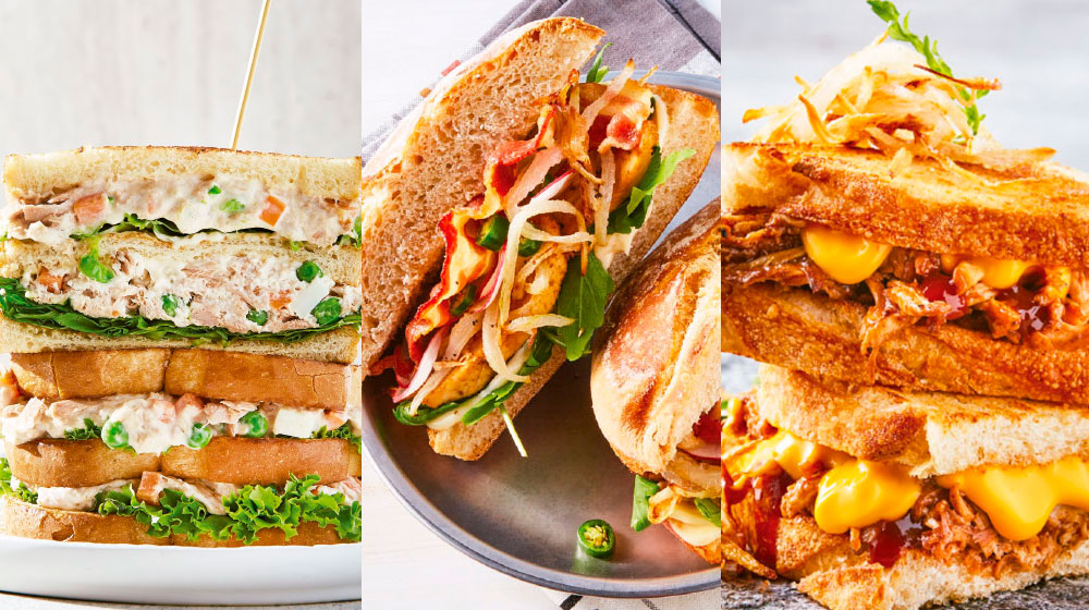 Sándwich: 26 recetas originales