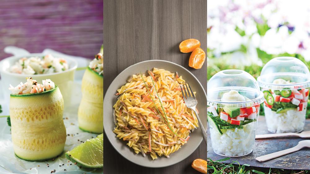 18 recetas de surimi