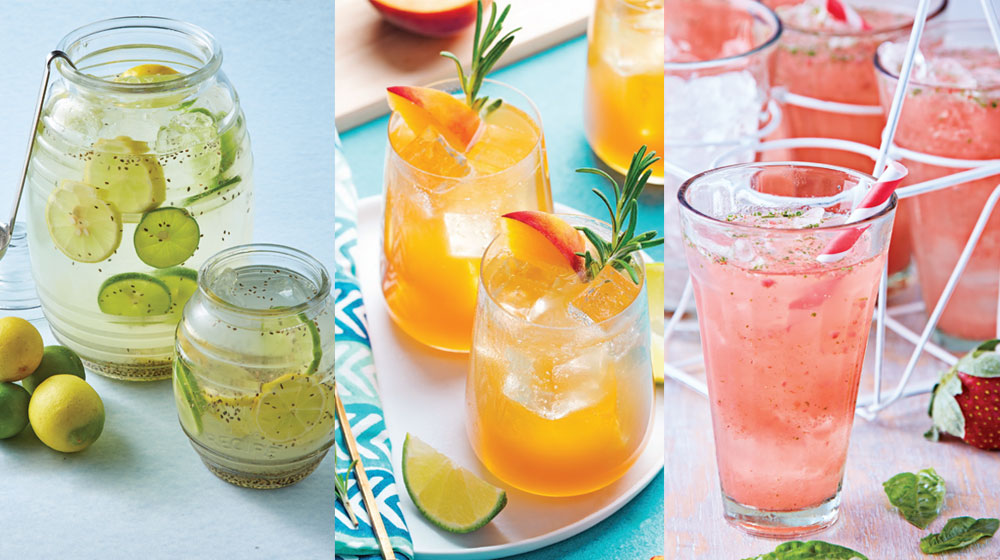 Bebidas para combatir el calor