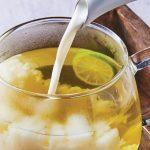 Latte de té de limón