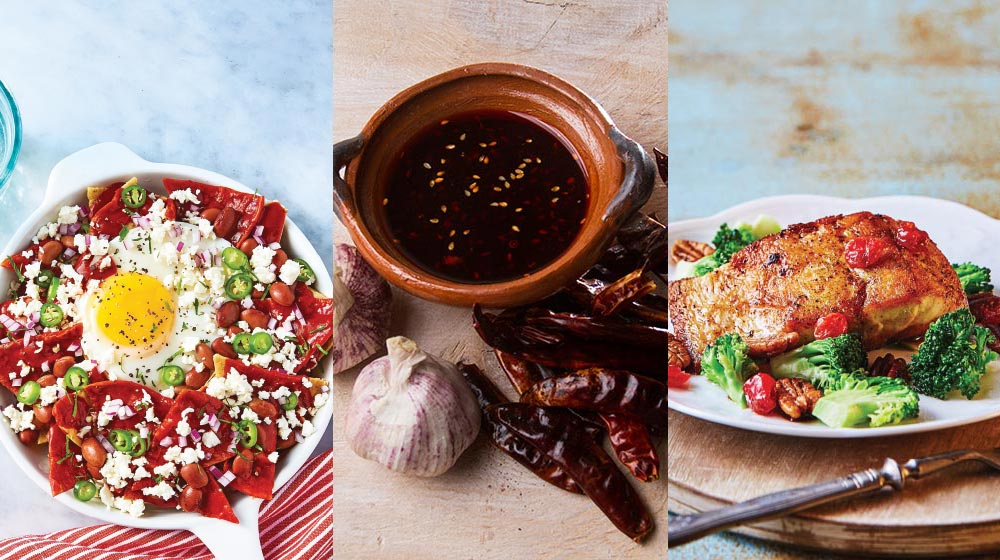 16 recetas buenísimas que puedes preparar con chile guajillo