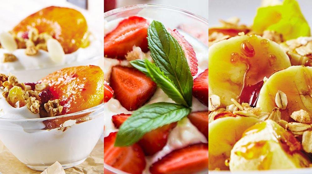 recetas de postres de frutas saludables