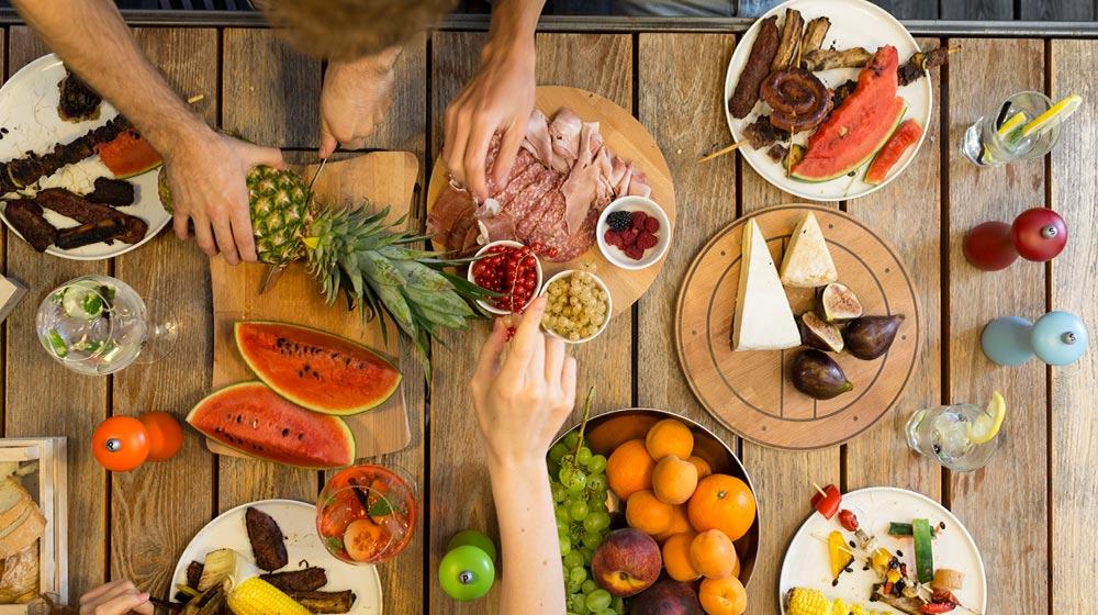 Tips de alimentación en verano y recetas de platos fuertes