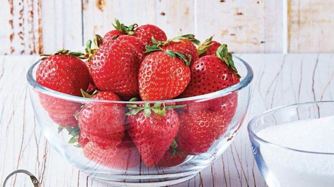 fresa beneficios frutas saludables tropicales