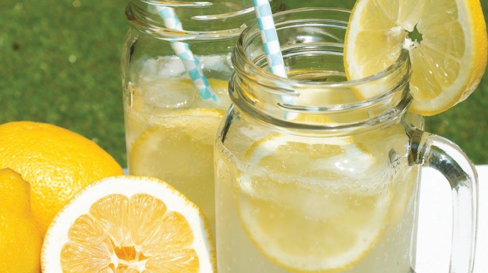 como hacer agua de limon para vender