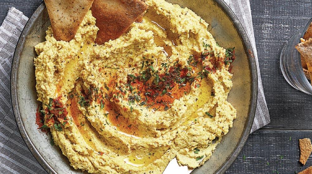 hummus receta de coliflor