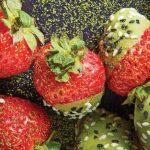 postres con fresas sin horno