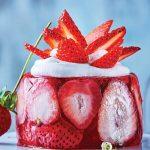 postres con fresas congeladas