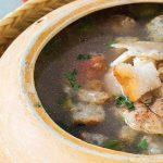 sopa de cabeza de pescado