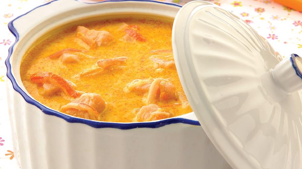 sopa de pescado receta