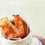 camarones con salsa de mango
