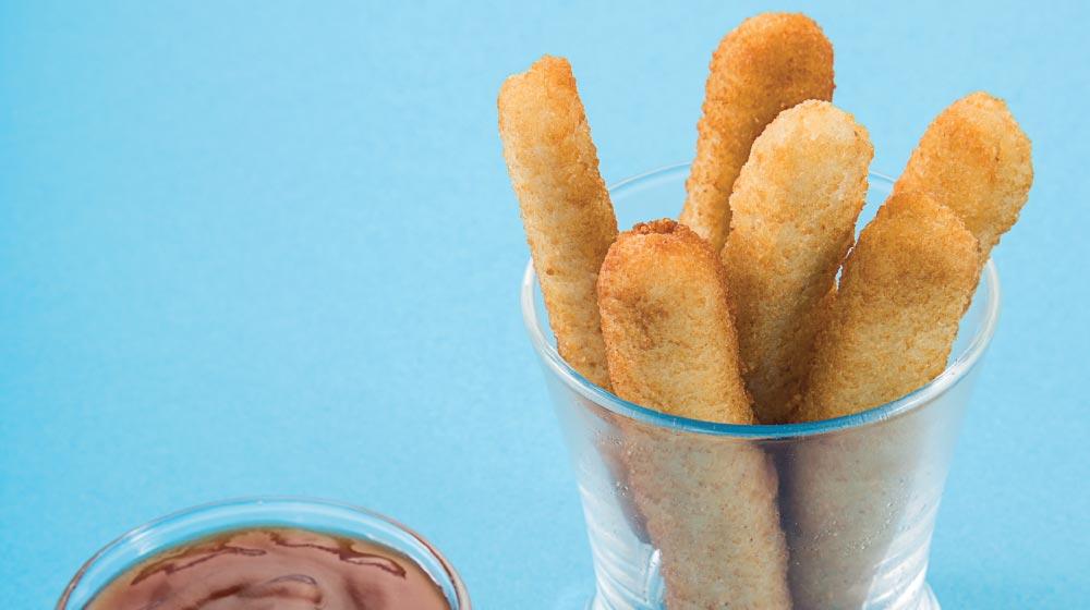 dedos de pollo para niños
