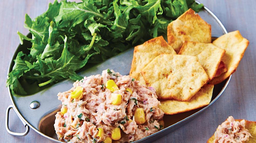 ensalada de atún receta con kale