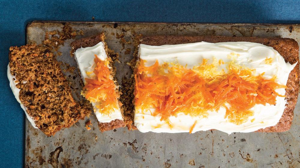 panqué de zanahoria