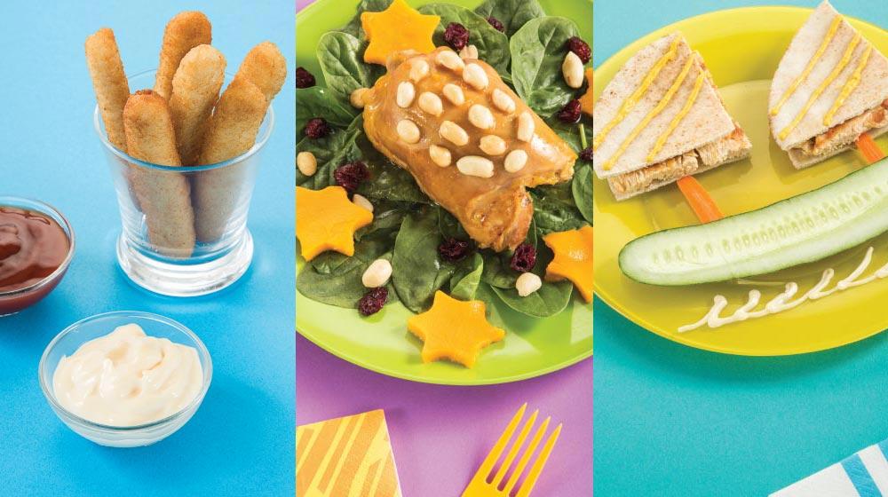 10 Recetas De Pollo Para Niños Saludables Y Muy Divertidas Cocina Fácil