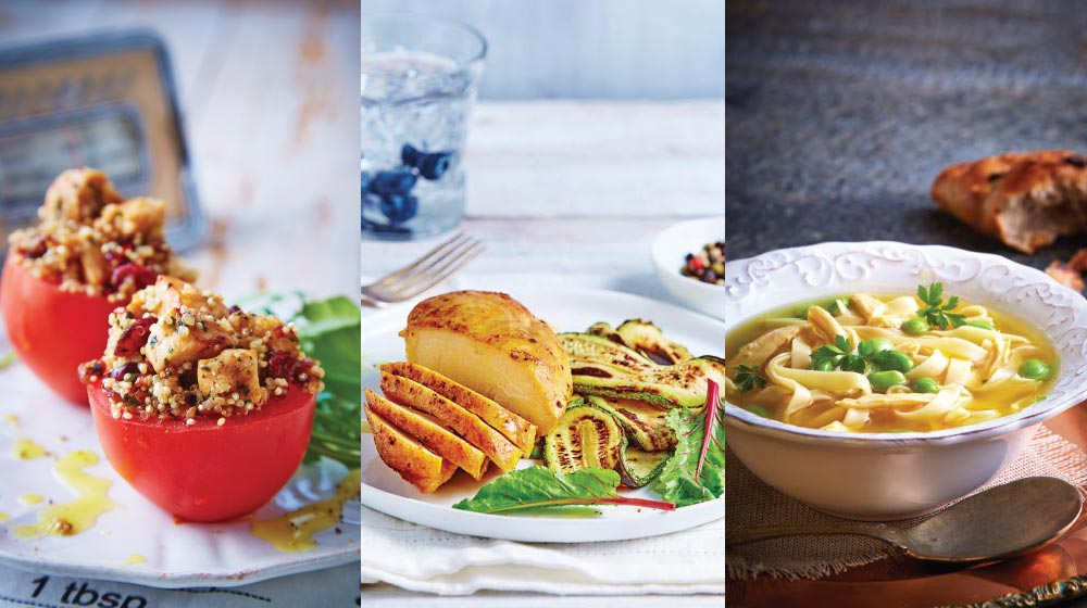 recetas saludables con pollo