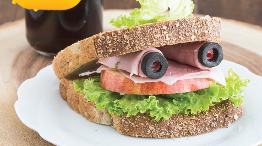 sándwich para niños