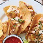 tacos de canitas de puerco estilo Hidalgo