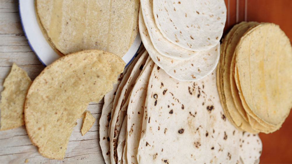 tipos de tortillas