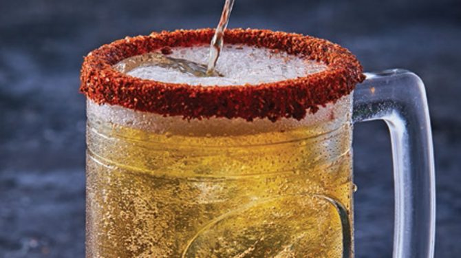cheladas micheladas bebidas con limon
