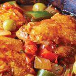 cómo preparar muslos de pollo a la veracruzana