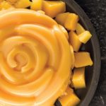 gelatina de mango cremosa