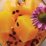 gelatina de mango natural