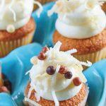 mini muffins de coco