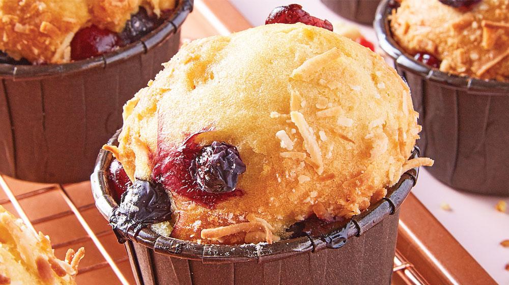muffin de moras