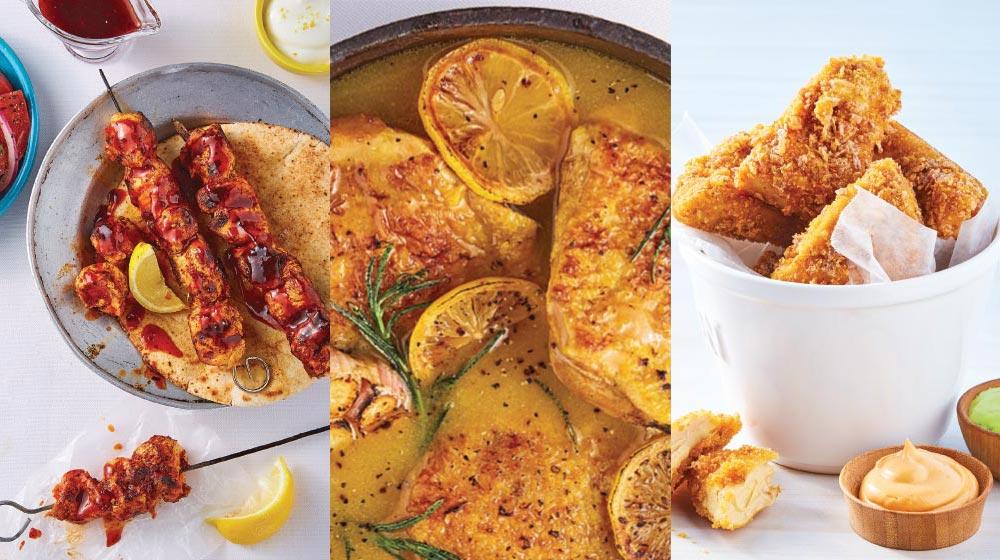 17 recetas de muslos de pollo fáciles