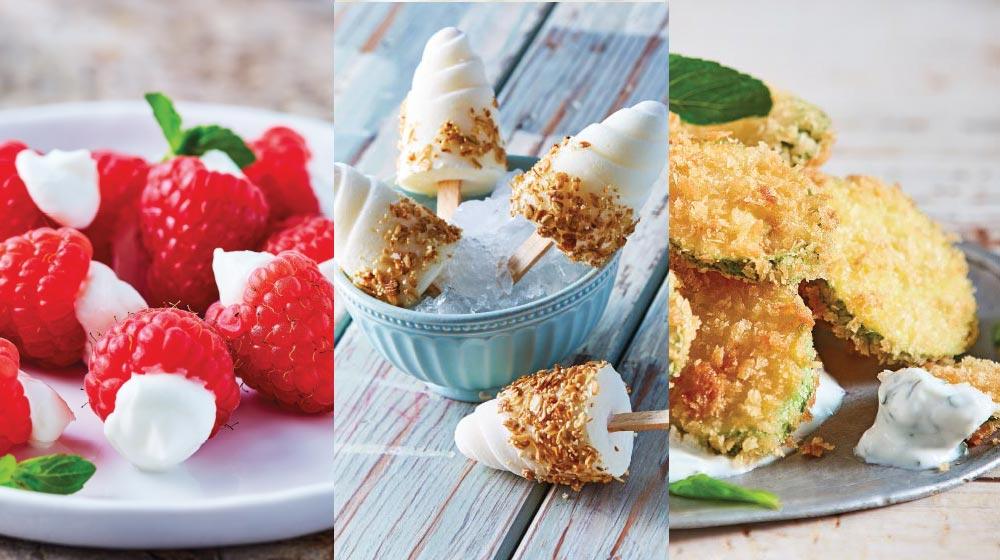 recetas con yogurt
