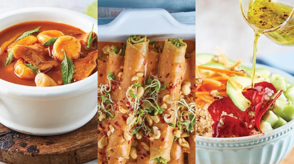 23 ricas ideas para preparar recetas vegetarianas.