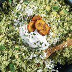 arroz verde tradicional