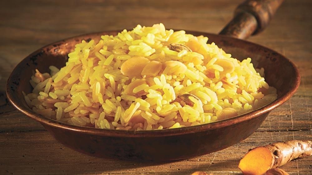 como hacer arroz amarillo