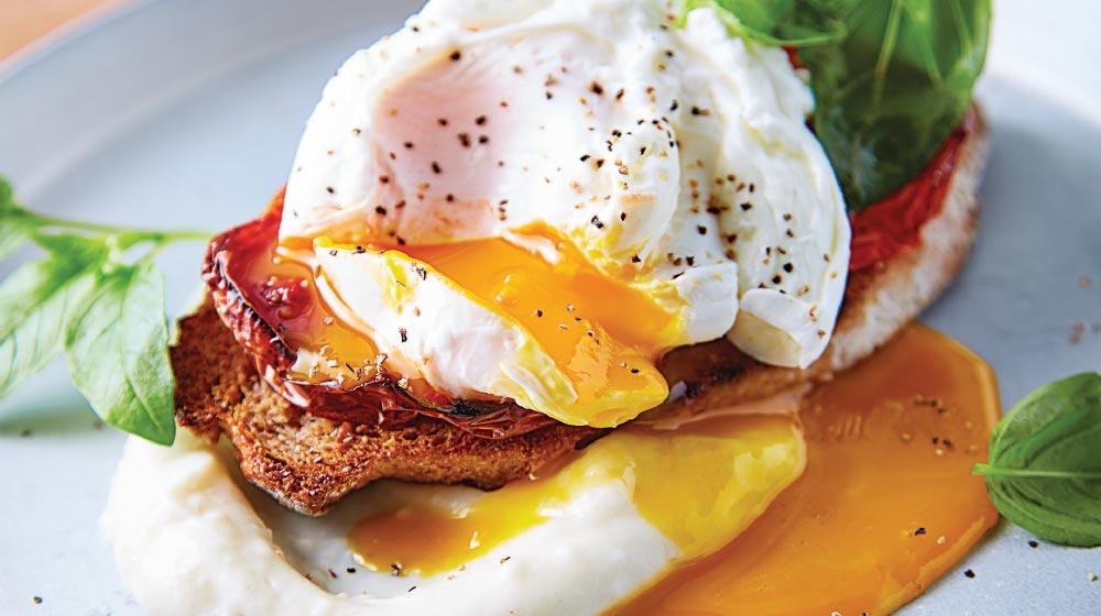 crostini de huevo