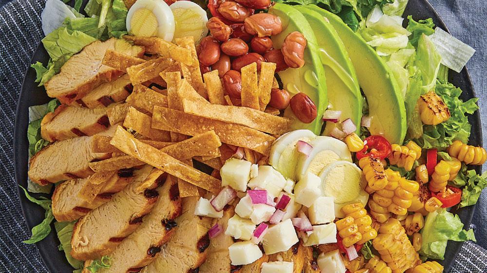ensalada mexicana con pollo