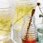 infusión de manzanilla con miel