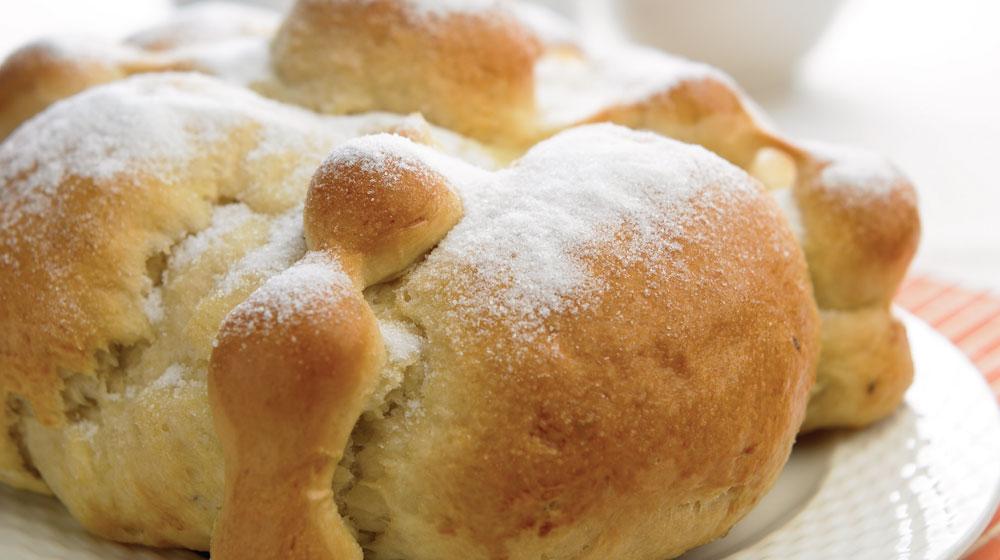 cómo hacer pan de muerto