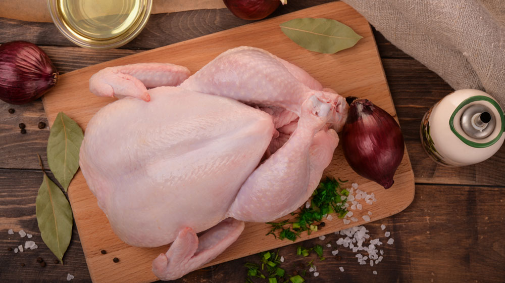 cocinar pollo