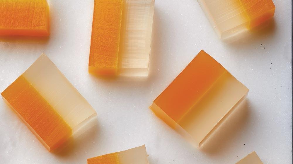 gelatina de maracuyá