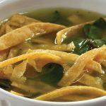 sopa de tortilla receta con verdolagas
