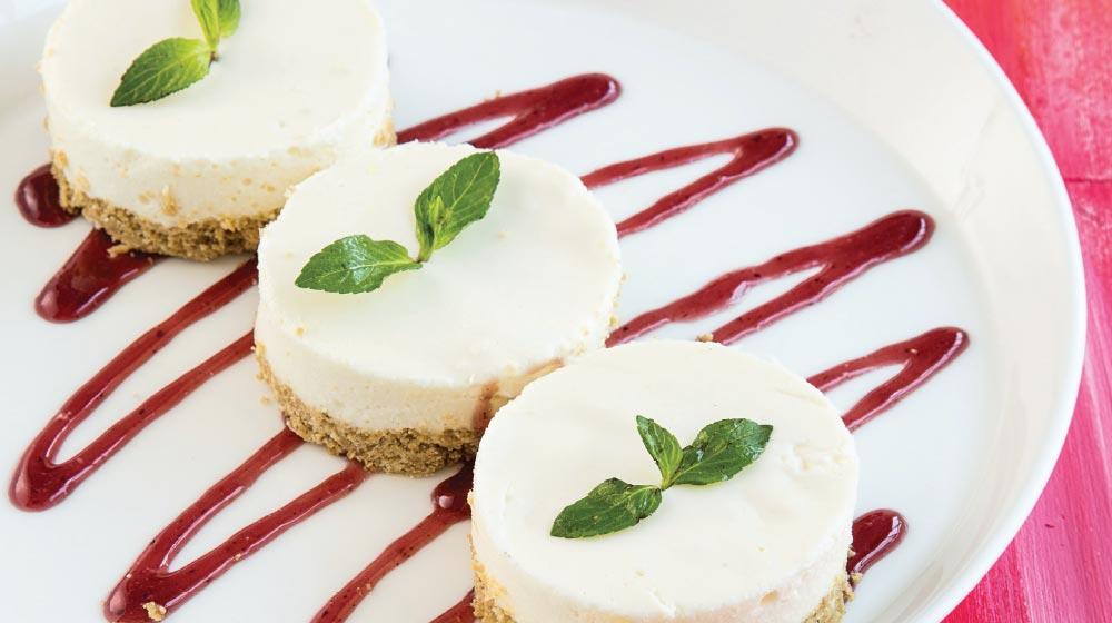 tarta de queso y guanabana