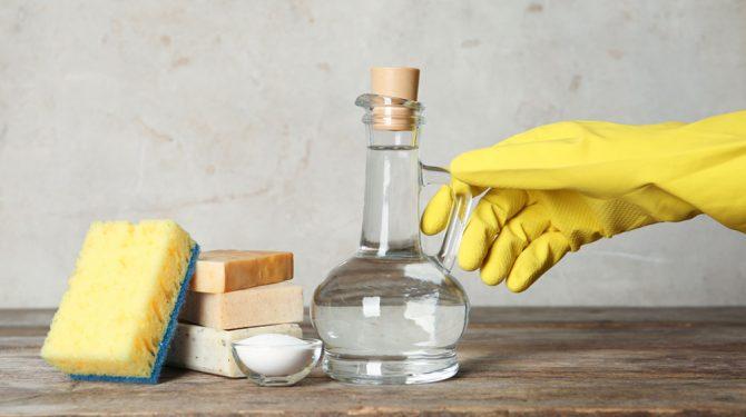 usos del vinagre para limpiar la casa